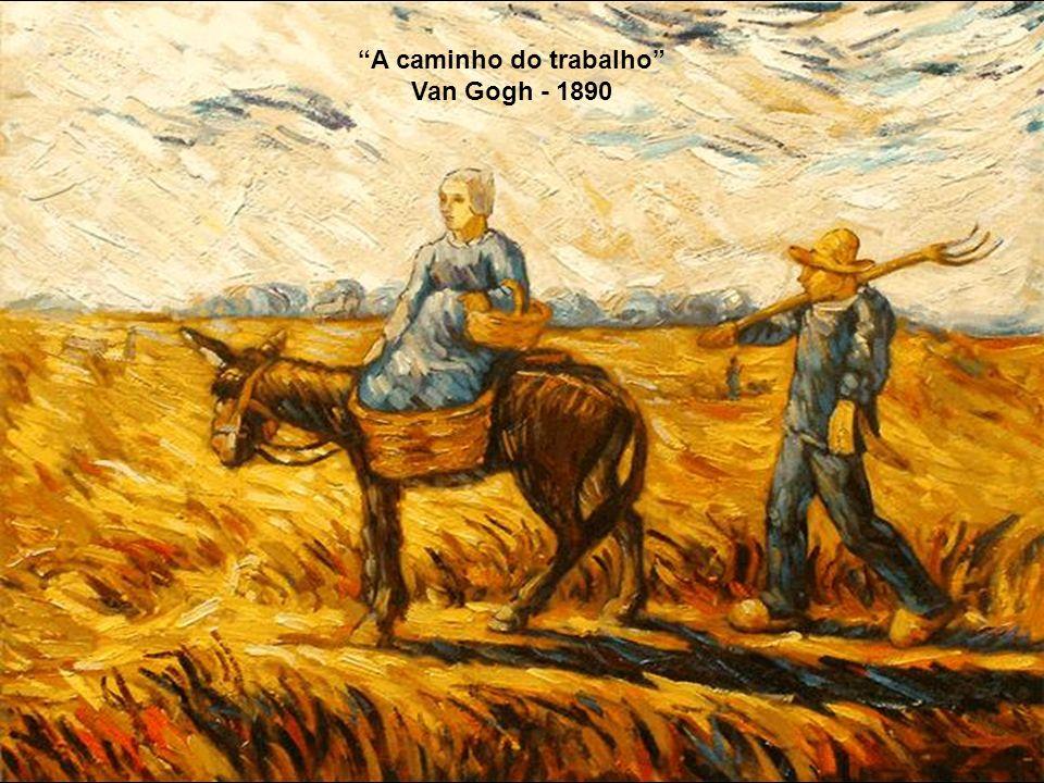A caminho do trabalho Millet - 1855