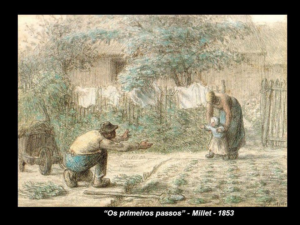 Foi aos 22 anos de idade que Vincent van Gogh descobriu, sem querer, a obra de Millet, poucos meses depois de sua morte. Todavia, sua admiração por el