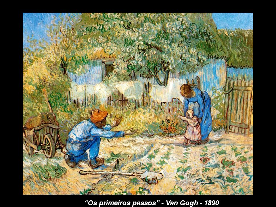 Os primeiros passos - Millet - 1853