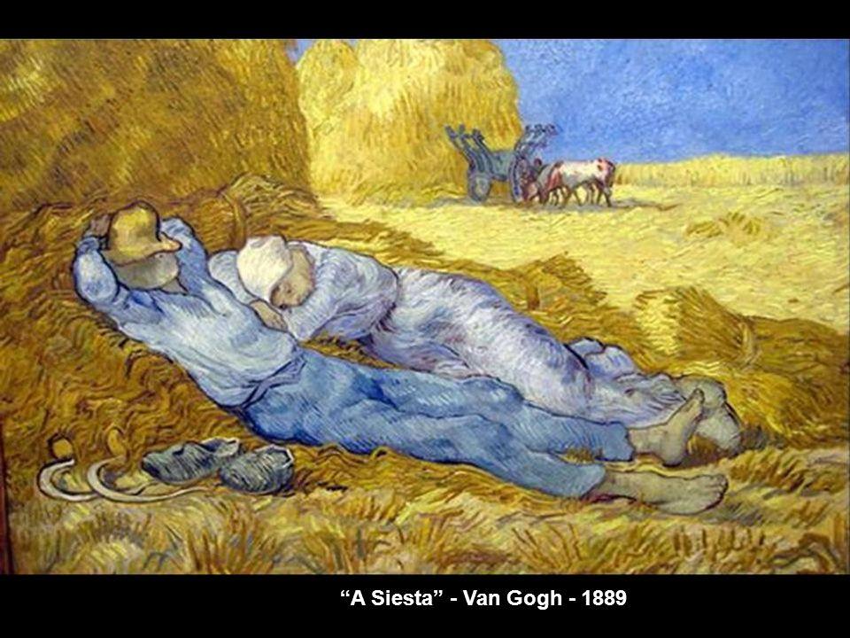 A siesta - Millet - 1866