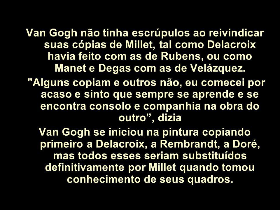 A Siesta - Van Gogh - 1889