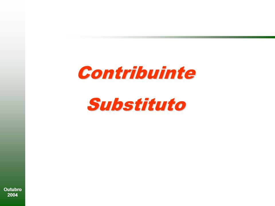 Outubro 2004 ContribuinteSubstituto