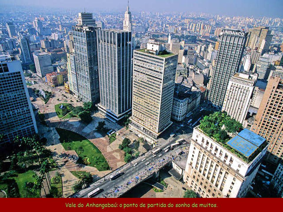 Uma avenida bem paulista na cidade que nunca dorme. Av. Paulista Foto Embratur