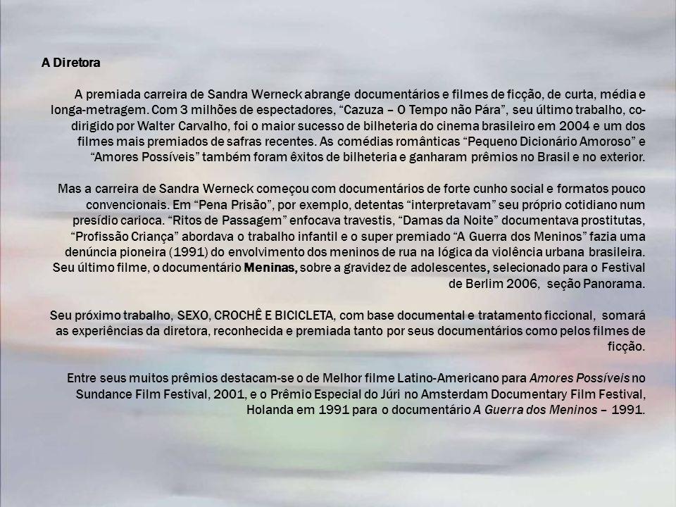 Alguns Prêmios CAZUZA – O TEMPO NÃO PÁRA – 2004 – 35mm, longa-metragem.