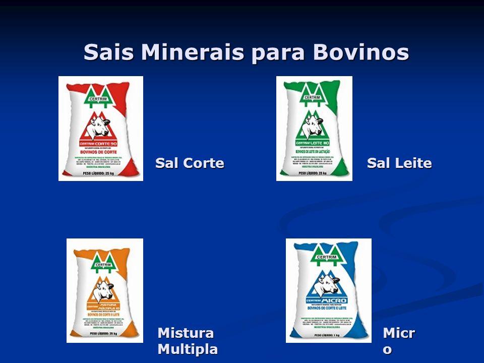 Sais Minerais para Bovinos Sal Corte Sal Leite Mistura Multipla Micr o