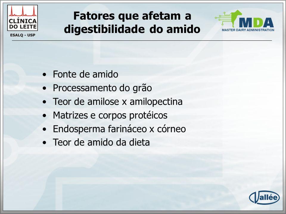 Fonte de amido Herrera-Saldaña, 1990 (in situ) aveia 98% trigo95% cevada90% milho62% sorgo49%