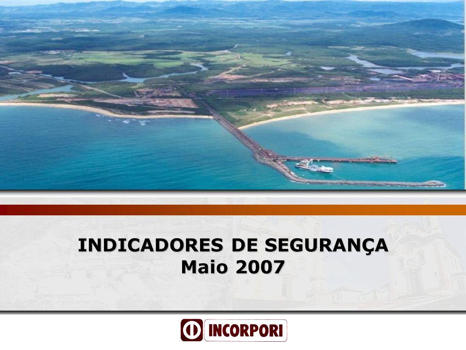 Incorpori Serviços Ltda. Segurança para Todos Inteligente é Praticar INDICADORES DE SEGURANÇA Maio 2007