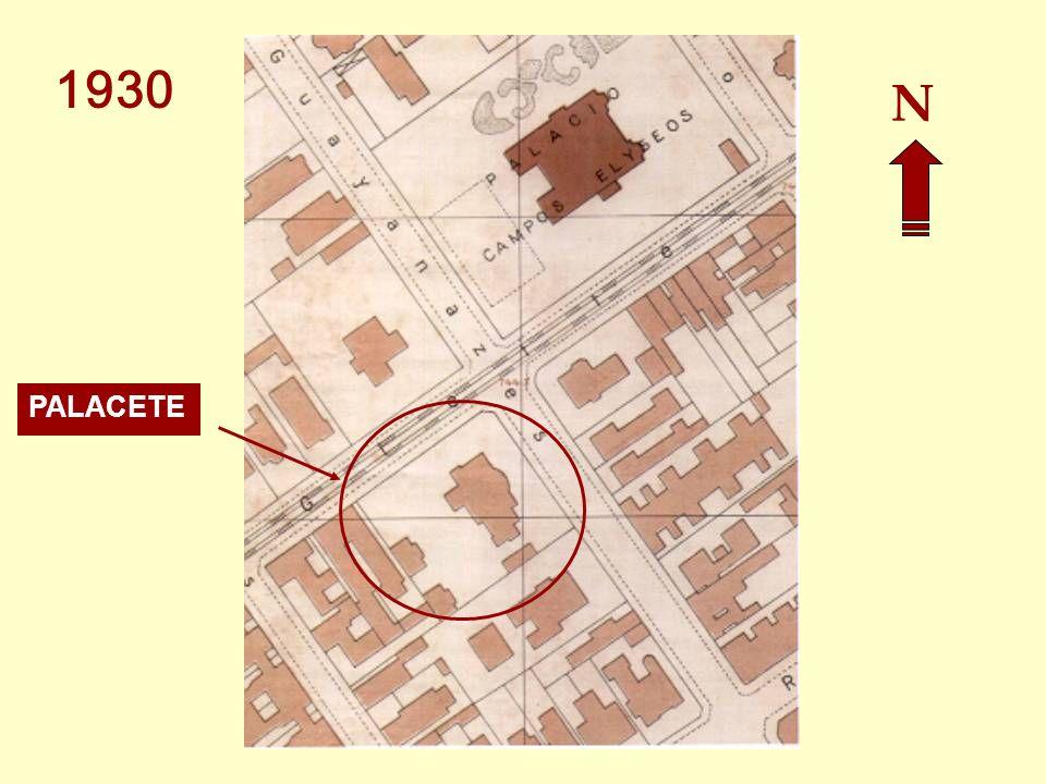 1926 – O palacete passou por profunda reforma, projetada pelo arquiteto Hyppolito Gustavo Pujol Jr. Fotos: Acervo Família Street 1916 – Jorge Street c