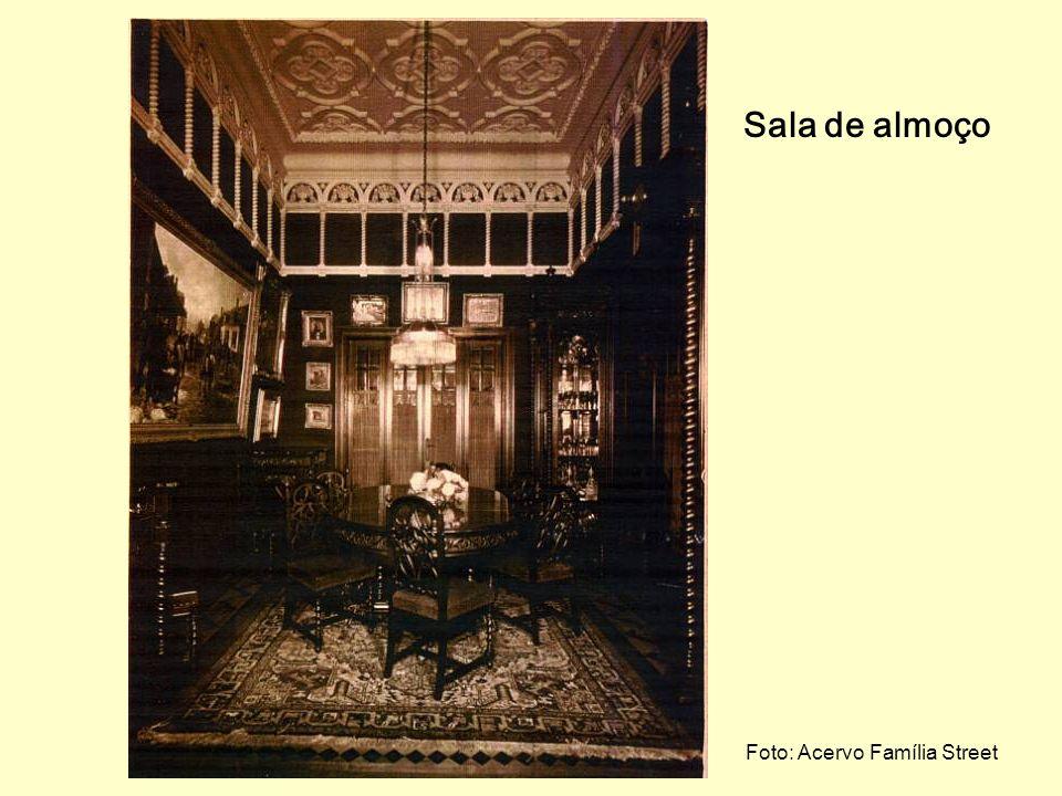 Sala de jantar Fotos: Acervo Família Street