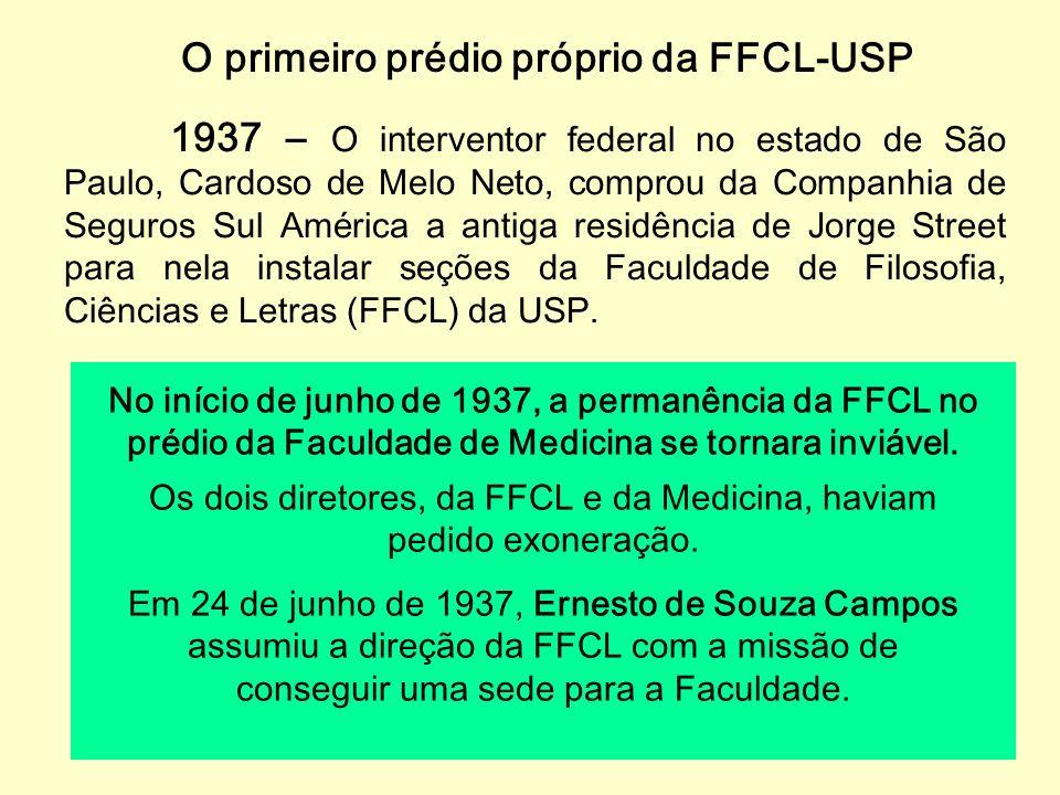 Universidade de São Paulo 25 de janeiro de 1934 – O governador do estado, o interventor federal Armando de Salles Oliveira, assinou o decreto de funda