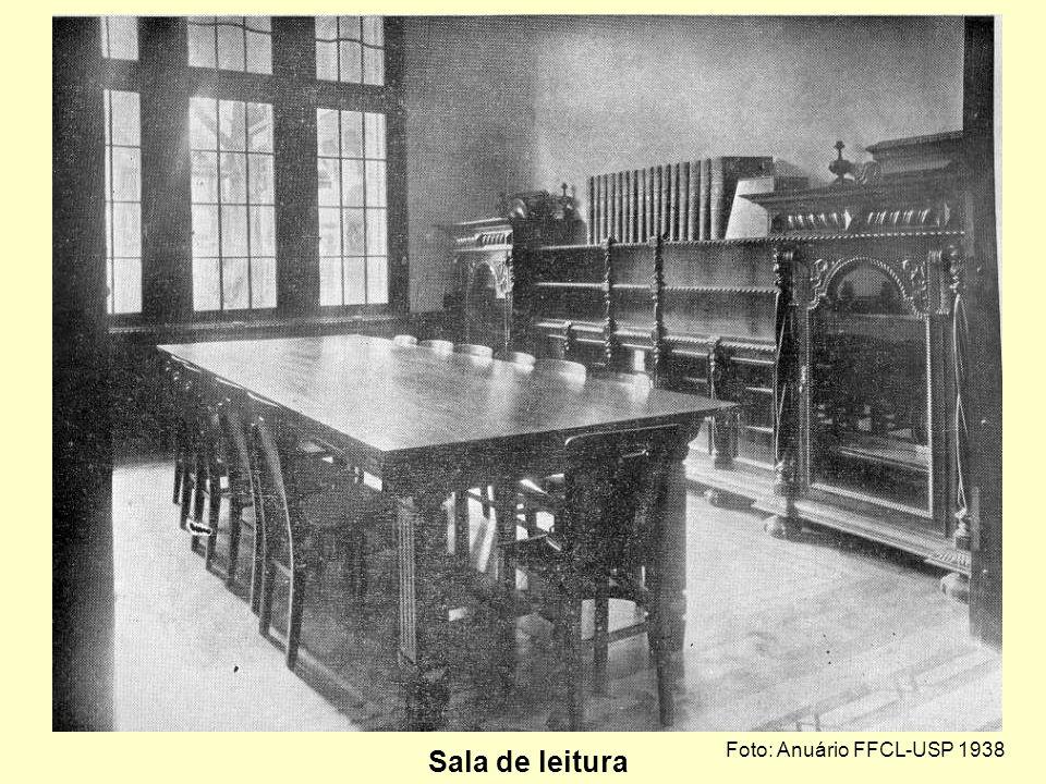 Foto: Anuário FFCL-USP 1938 Biblioteca Geral