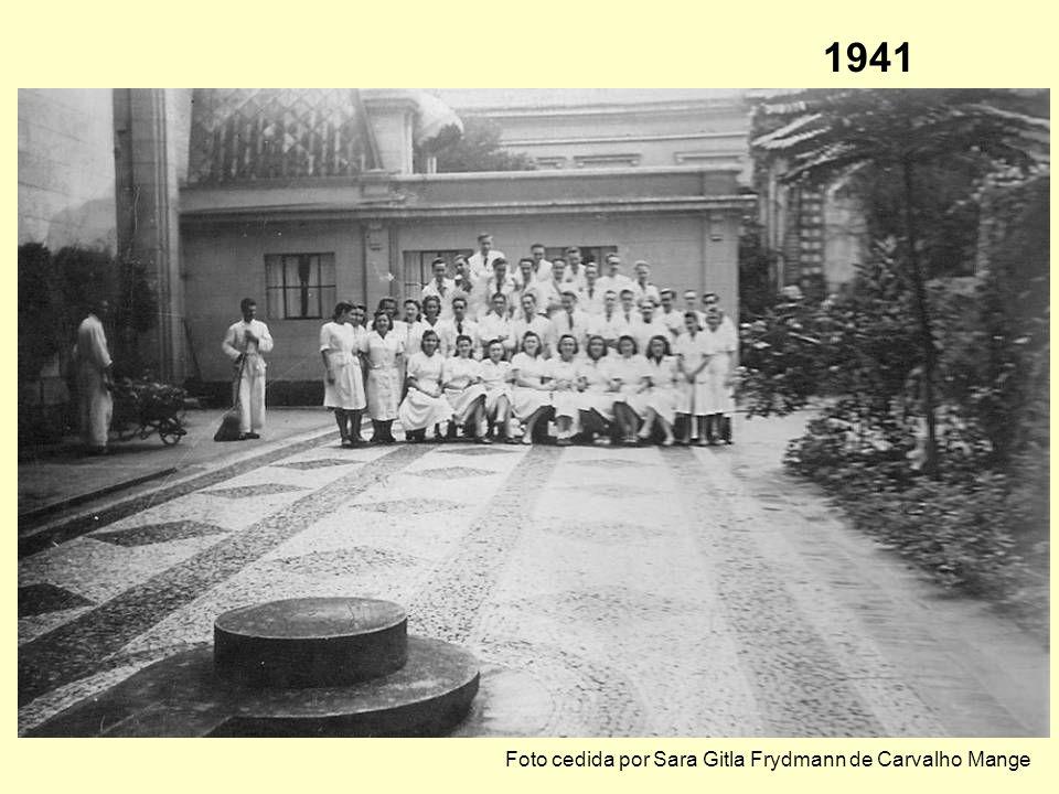 Março de 1939 – almoço comemorativo das duas primeiras turmas de químicos da FFCL-USP, na Brasserie Paulista Paschoal Senise Prof. Rheinboldt Simão Ma