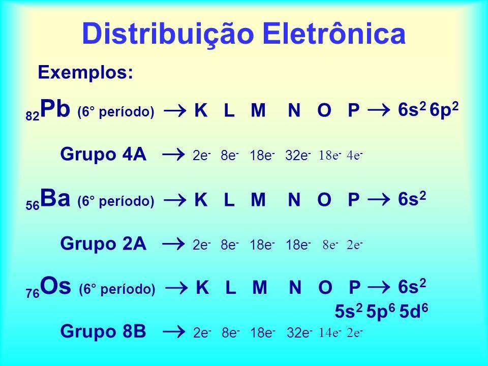 Exercícios de fixação: 5. Julgue os itens seguintes: (01) Num mesmo grupo periódico, de cima para baixo, aumenta a carga nuclear dos elementos. (02) E