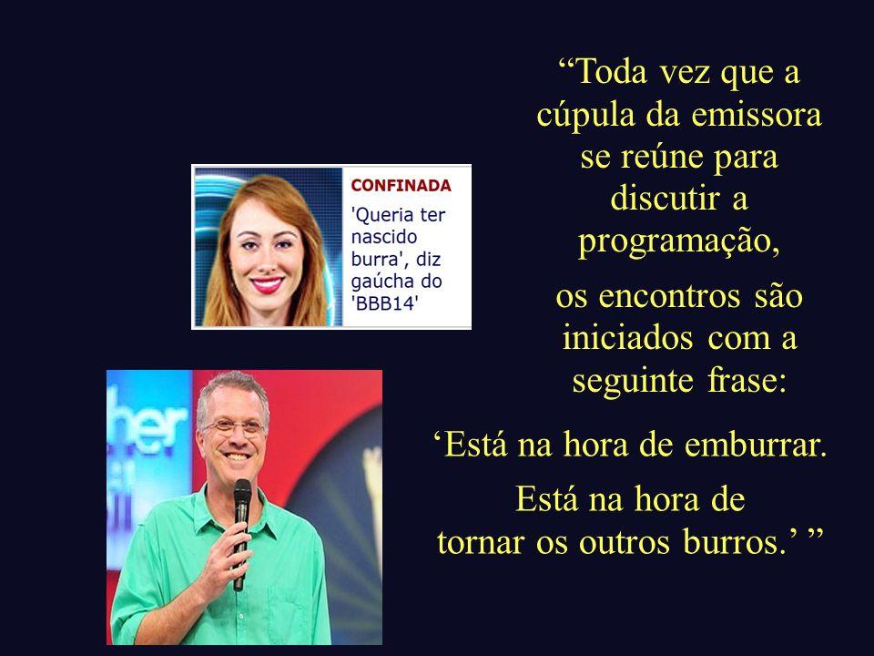 Em encontro promovido pelo Centro Cultural Banco do Brasil – CCBB, um roteirista da Rede Globo, diante de uma plateia diminuta, num momento de rara franqueza, afirmou:...