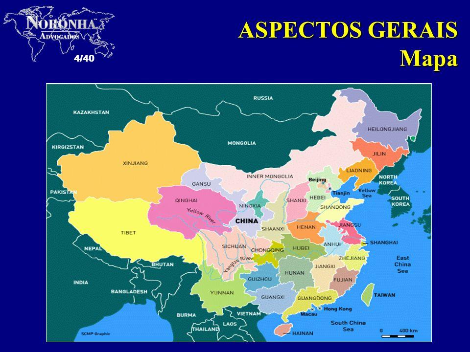 4/40 ASPECTOS GERAIS Mapa