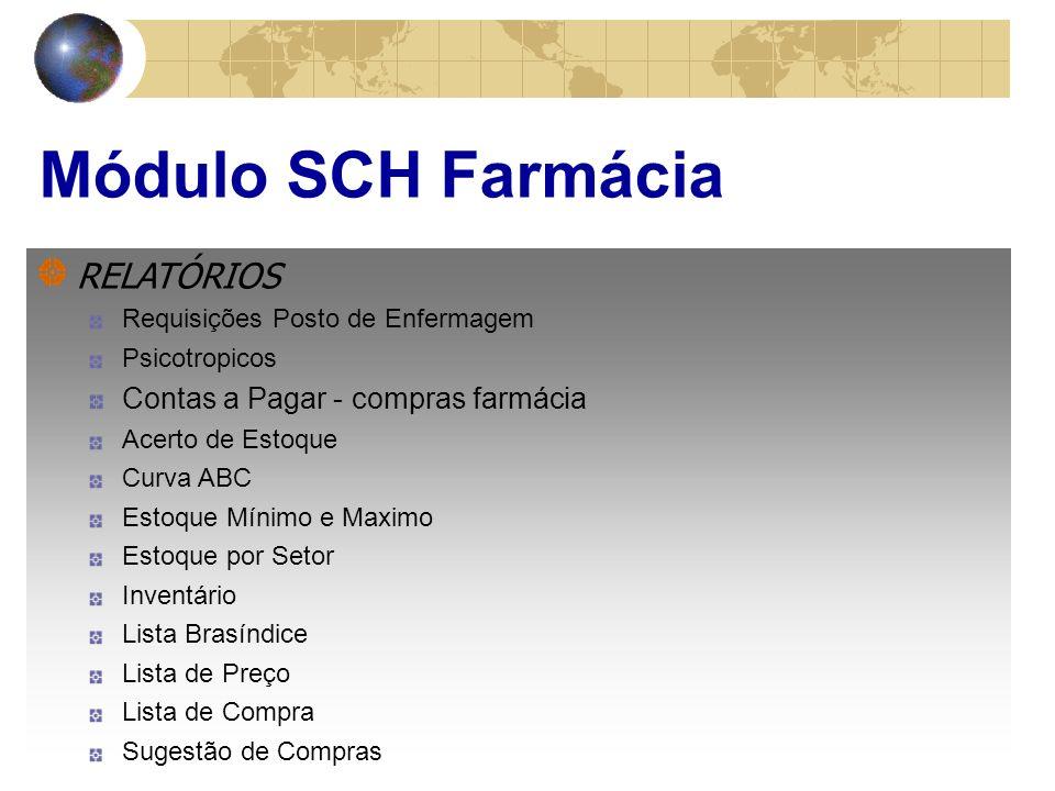Módulo SCH Posto de Enferm.