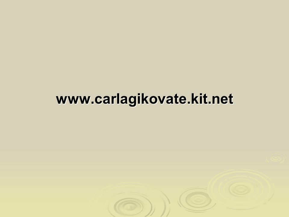 www.carlagikovate.kit.net