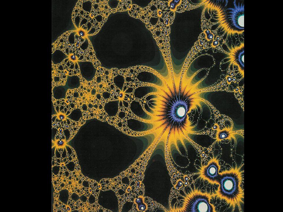 As formas estranhas e caóticas dos fractais descrevem fenômenos naturais como os sismos, o desenvolvimento das árvores, a forma de algumas raízes, a l