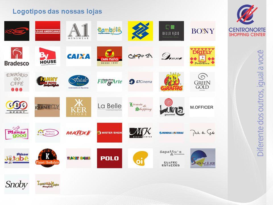 Logotipos das nossas lojas