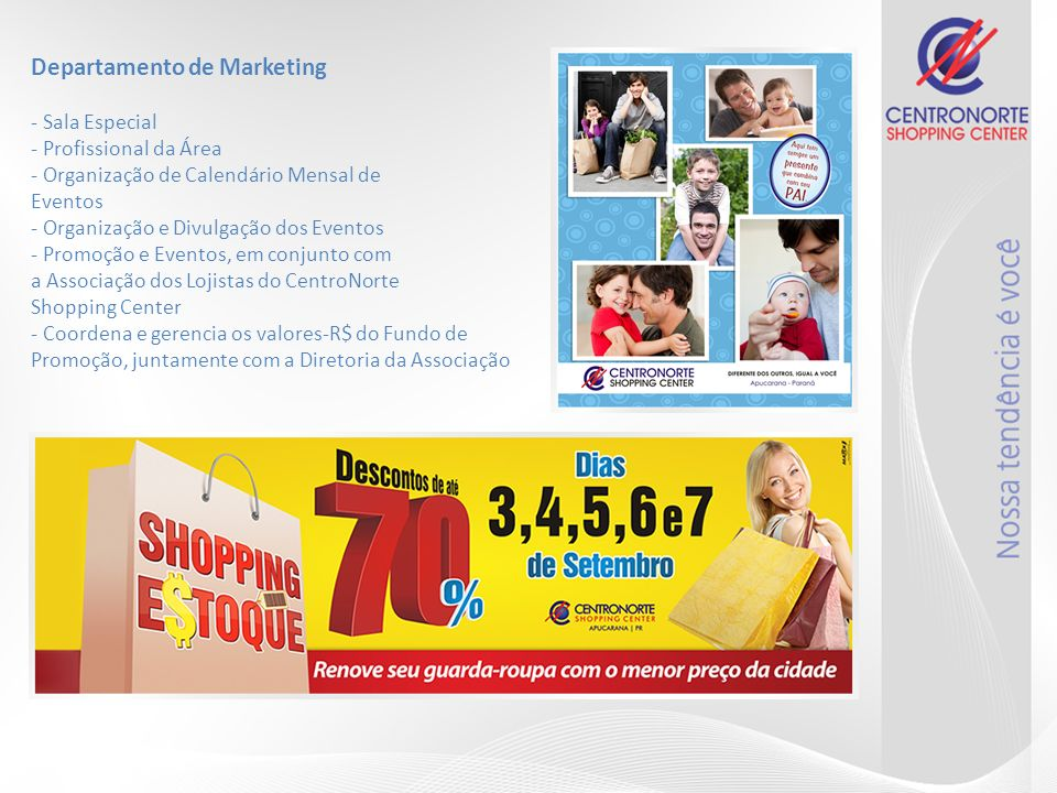 Departamento de Marketing - Sala Especial - Profissional da Área - Organização de Calendário Mensal de Eventos - Organização e Divulgação dos Eventos