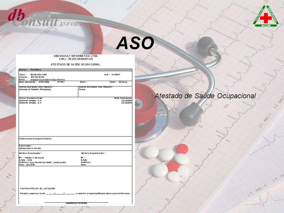 db Consult ASO Atestado de Saúde Ocupacional INFORMÁTICA