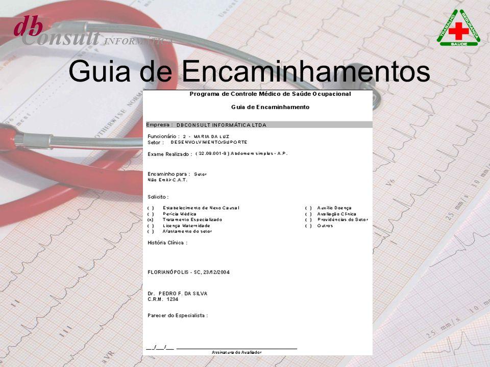 db Consult Guia de Encaminhamentos INFORMÁTICA