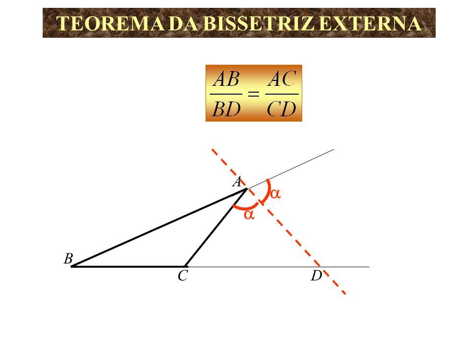 A B C c b D x y r E Logo o triângulo ACE é isósceles AC = AE = b b Pelo Teorema de Tales temos: s r//s