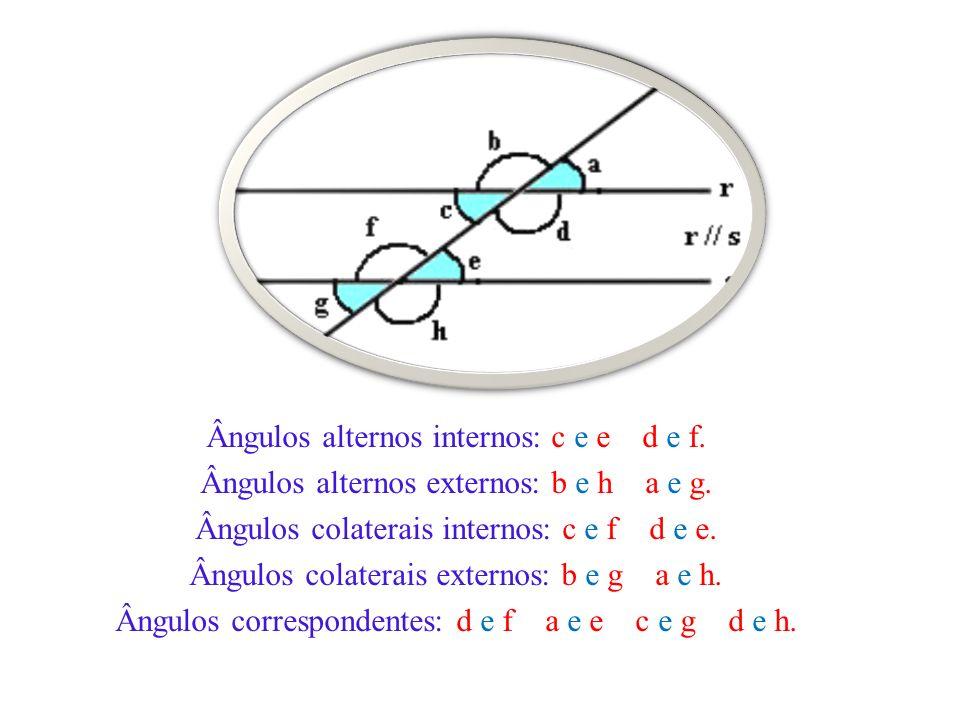 TRANSVERSAL TRANSVERSAL PERPENDICULAR ÀS RETAS TRANSVERSAL NÃO- PERPENDICULAR ÀS RETAS Quando a transversal for perpendicular às duas semi-retas paralelas retas todos os ângulos serão retos (de 90°).