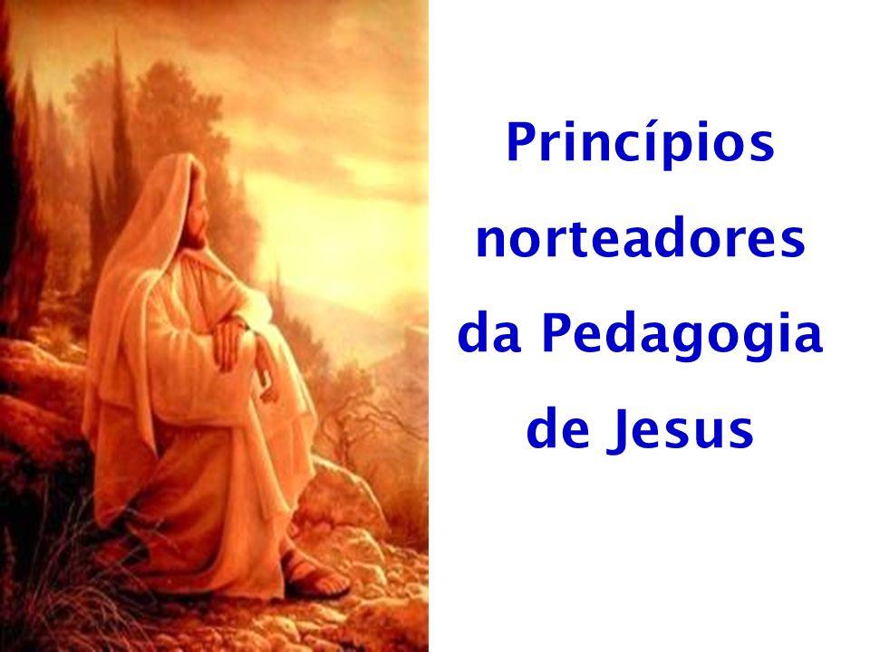 Princípios norteadores da Pedagogia de Jesus