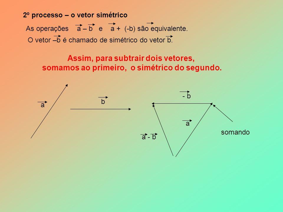 5 - SUBTRAÇÃO 1º processo – operação inversa Levando em conta que a + b = c, tem-se c – a = b.
