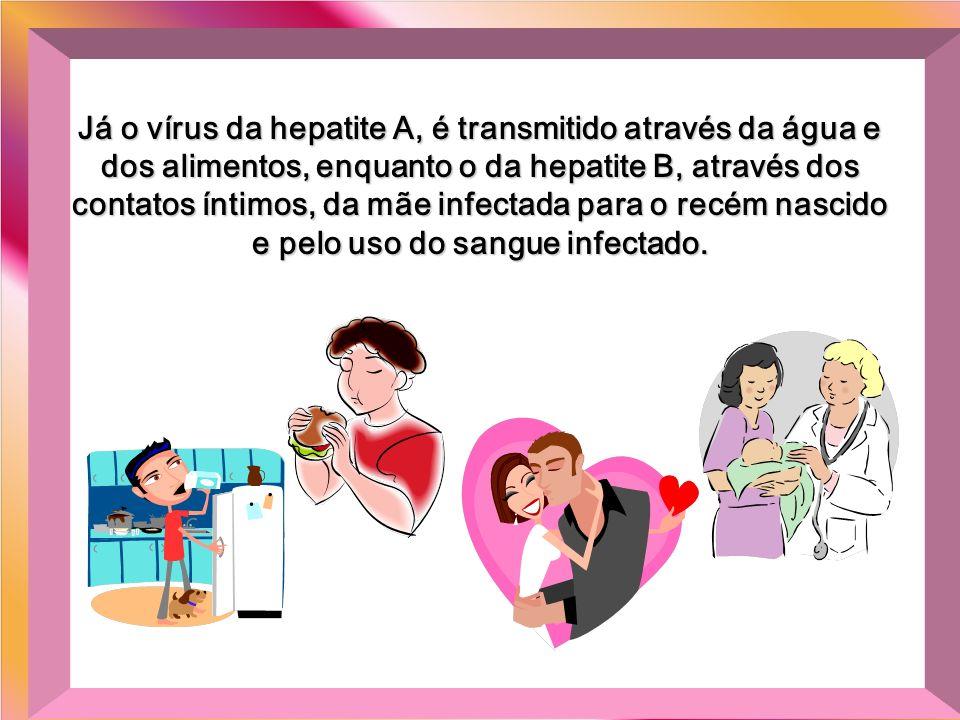 Os vírus da hepatite C, são transmitidos pela transfusão de sangue e hemodiálise, pelo uso de drogas intravenosas, material cortante ou perfurante de