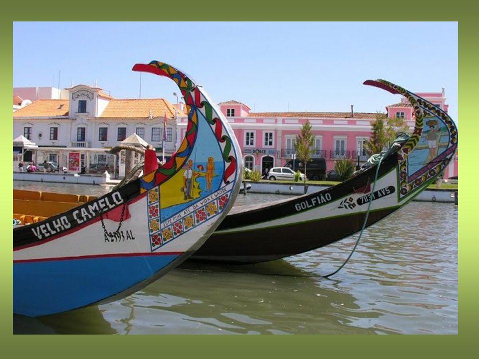 Barcos Moliceiros Pinturas e dizeres do barco Moliceiro