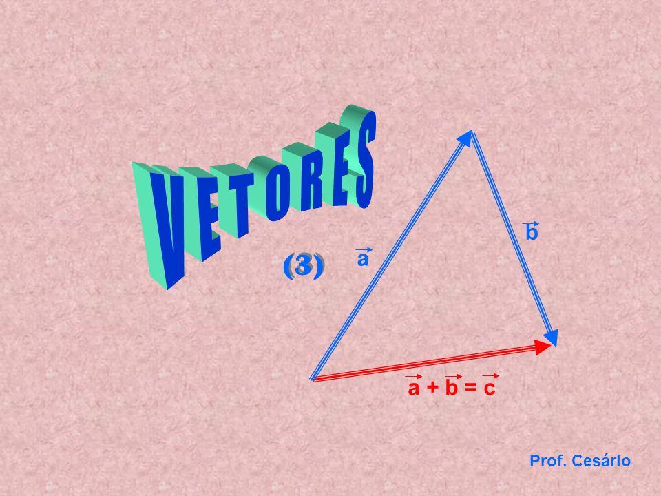 Prof. Cesário b a + b = c a (3)
