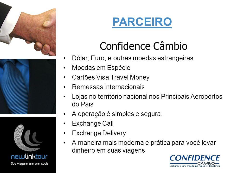 Confidence Câmbio Dólar, Euro, e outras moedas estrangeiras Moedas em Espécie Cartões Visa Travel Money Remessas Internacionais Lojas no território na