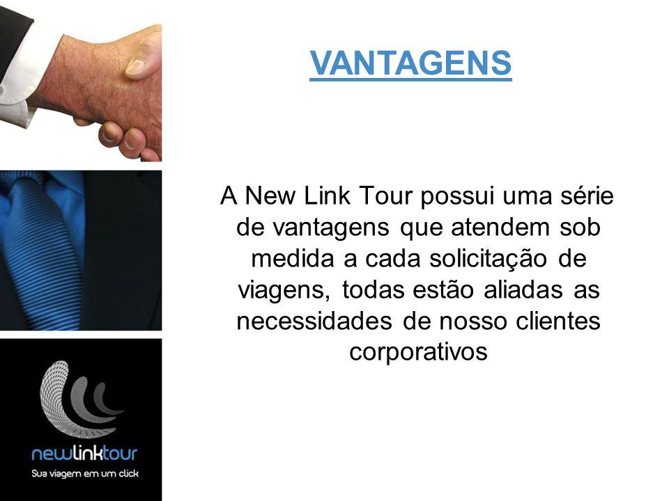 A New Link Tour possui uma série de vantagens que atendem sob medida a cada solicitação de viagens, todas estão aliadas as necessidades de nosso clien