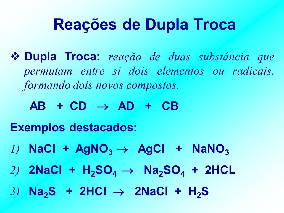 Página – 32 / Módulo 2 Complete, balanceando, cada equação a seguir: 01. Mg + HBr 02. Ca + H 2 SO 4 03. K + H 2 Cr 2 O 7 04. Ba + H 4 P 2 O 7 05. K +