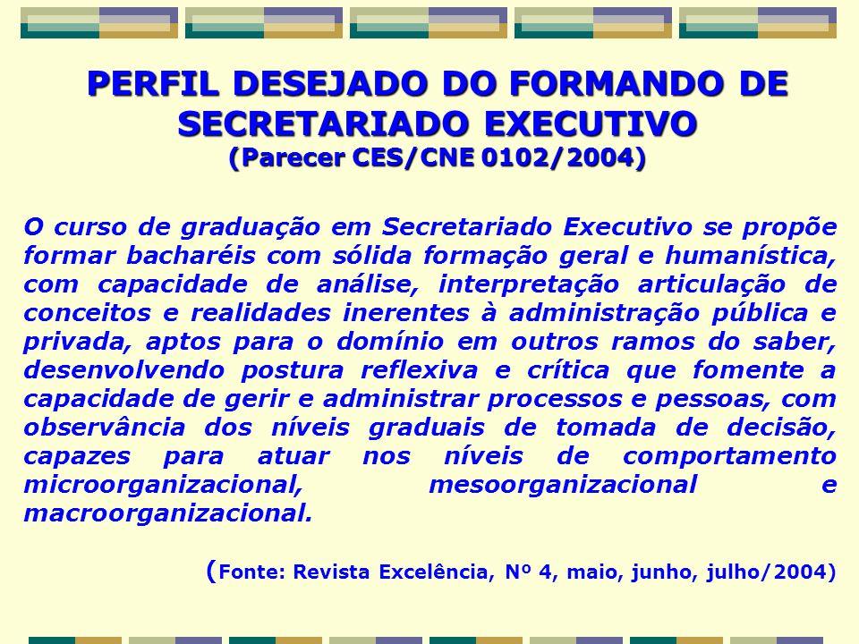 O curso de graduação em Secretariado Executivo se propõe formar bacharéis com sólida formação geral e humanística, com capacidade de análise, interpre
