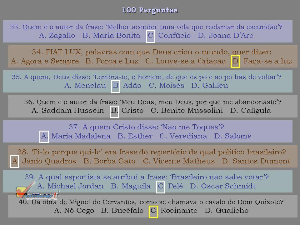 100 Perguntas 27. Diego Maradona, antes de se tornar conhecido em todo o mundo, era craque do: A. Argentinos Juniors B. Corinthians C. Real Madrid D.