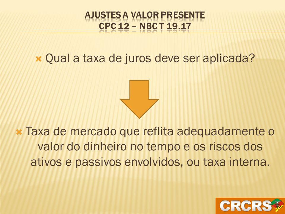 Quando ativos e passivos devem ser ajustados Na data da origem da transação Na data de transição
