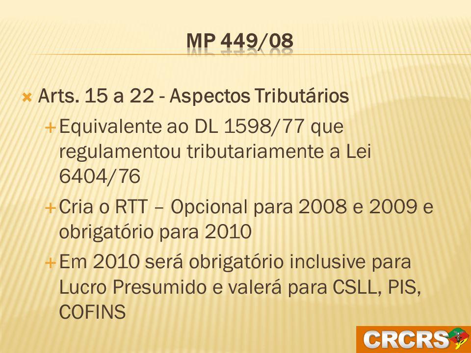 A revisão periódica da vida econômica útil dos bens do imobilizado não necessita ser feita nem no balanço de abertura nem em 31/12/2008 Deve ser feita ao longo de 2009.