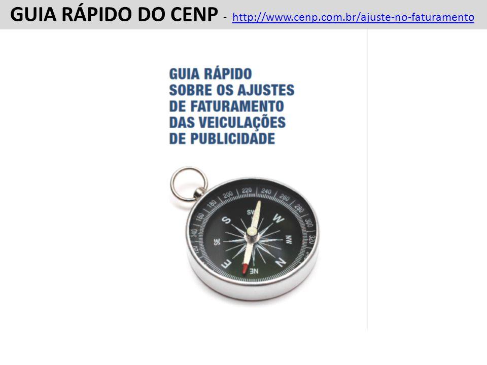 FATURAMENTO FORMATO 1 FATURAMENTO FORMATO 1 GUIA RÁPIDO DO CENP - SOBRE AJUSTES E RECOMENDAÇÕES