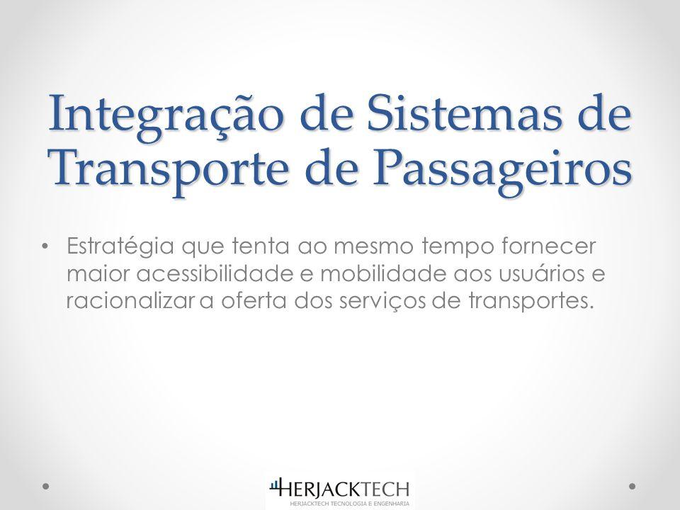 Estratégia que tenta ao mesmo tempo fornecer maior acessibilidade e mobilidade aos usuários e racionalizar a oferta dos serviços de transportes.