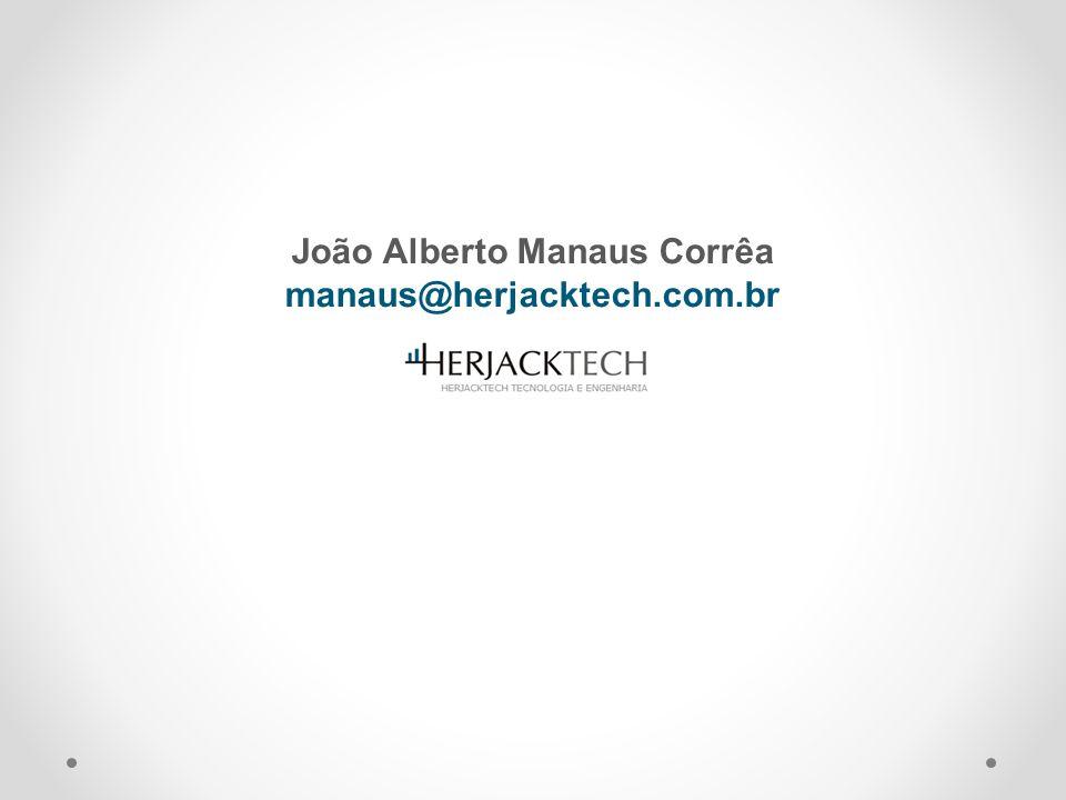 João Alberto Manaus Corrêa manaus@herjacktech.com.br