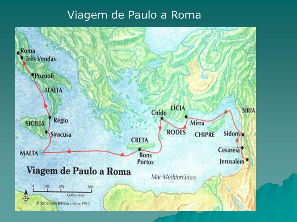 Viagem de Paulo a Roma