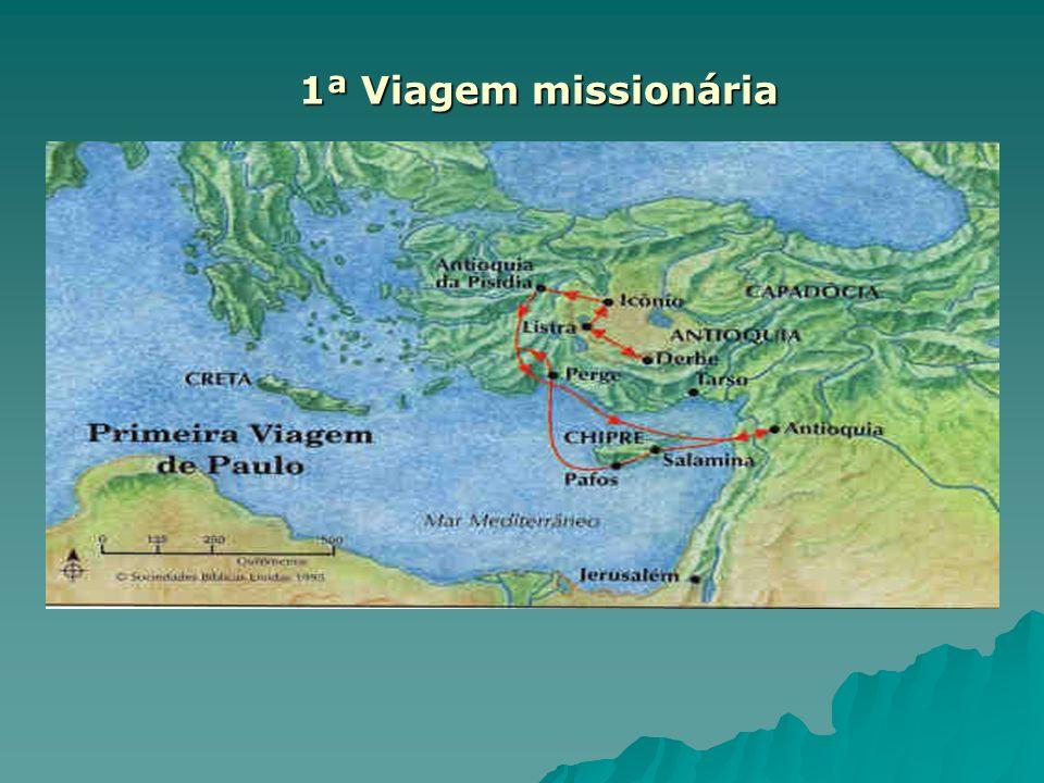 1ª Viagem missionária