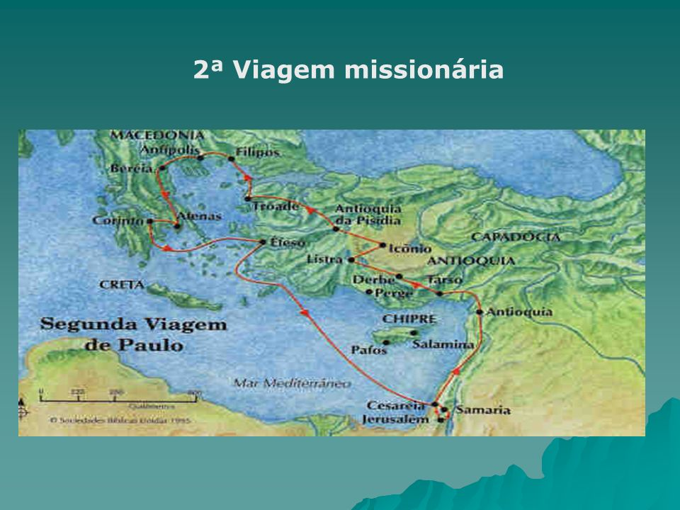 2ª Viagem: Abertura aos pagãos O discurso é para os pagãos; O discurso é para os pagãos; Foi pronunciado no Areópago de Atenas, na Grécia (At 17,22-31).
