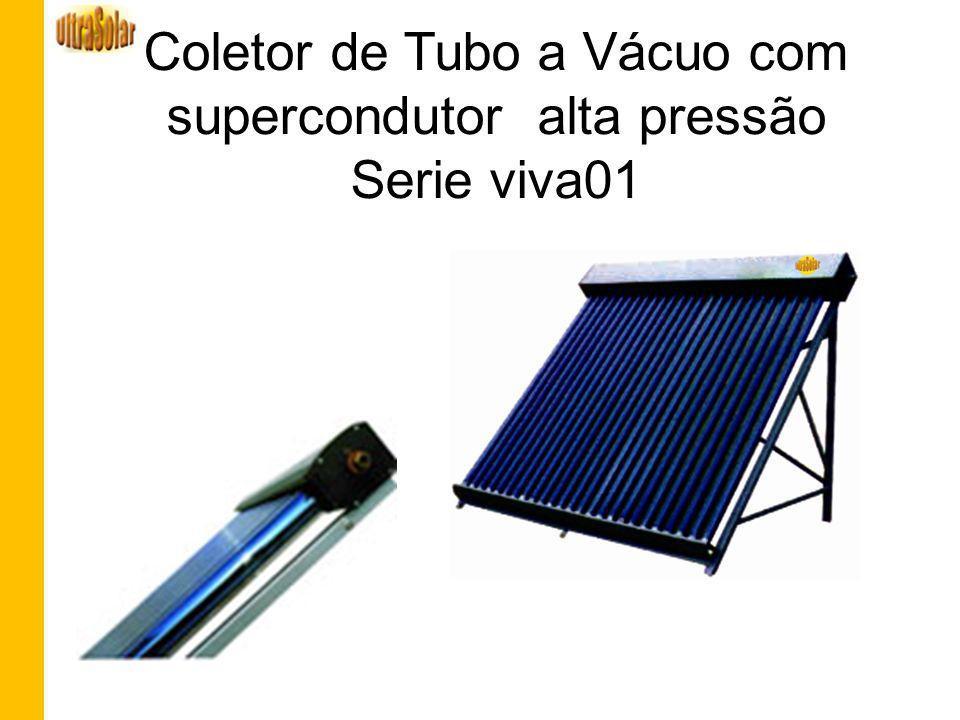 Coletor de Tubo a Vácuo com supercondutor alta pressão Serie viva01