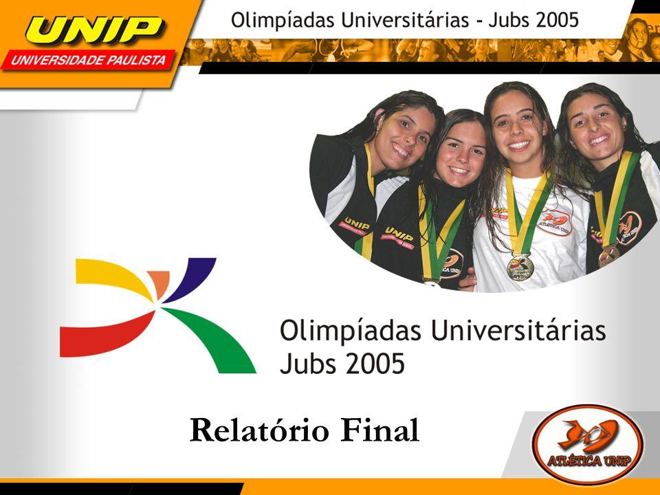 INTRODUÇÃO De 17 a 26 de junho de 2005, foram realizadas as Olimpíadas Universitárias em Recife, competição anteriormente chamada de Jogos Universitários Brasileiros (JUBs).