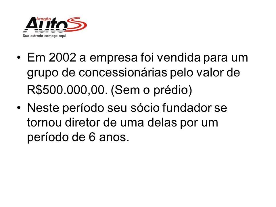 Em 2002 se deu a construção de seu primeiro prédio próprio, investimento de R$280.000,00.