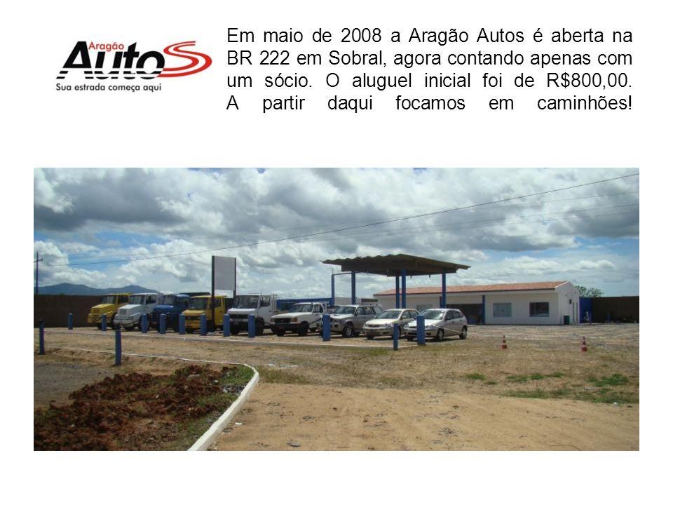 Em 2002 a empresa foi vendida para um grupo de concessionárias pelo valor de R$500.000,00. (Sem o prédio) Neste período seu sócio fundador se tornou d